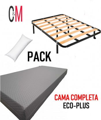 CAMA COMPLETA ECO PLUS